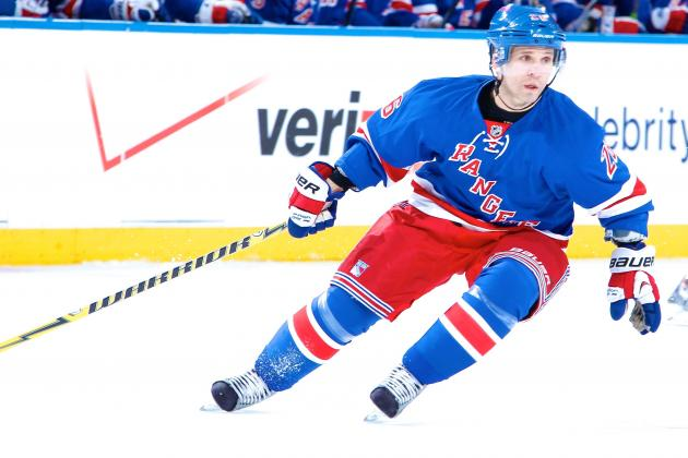 Martin St. Louis Ready to Make Big Impact in NHL Playoffs for New York Rangers