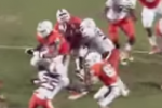 Miami LB Lays Out Own Teammate at Spring Game