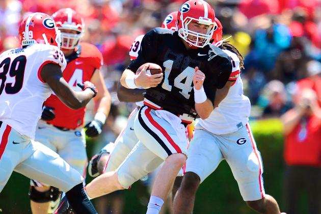 Expect Georgia to Play More Hurry-Up Offense with QB Hutson Mason