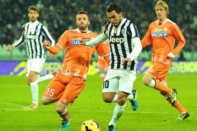 Udinese vs. Juventus: Serie A Live Score, Highlights, Report