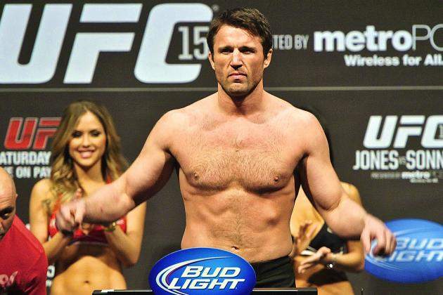 Chael Sonnen Insists Wanderlei Silva Will 'Weasel out of' UFC 175 Fight