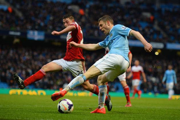 Yaya Toure Injury a Blow, but James Milner Can Step Up for Manchester City