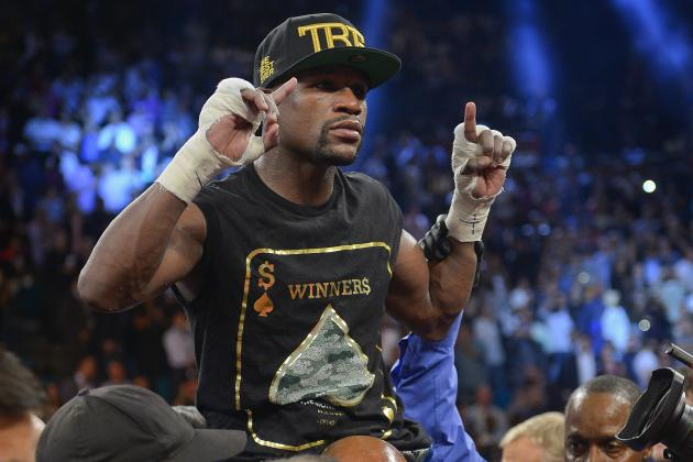 Mayweather vs. Maidana Purse: Known Prize Money and Split After Money's Win