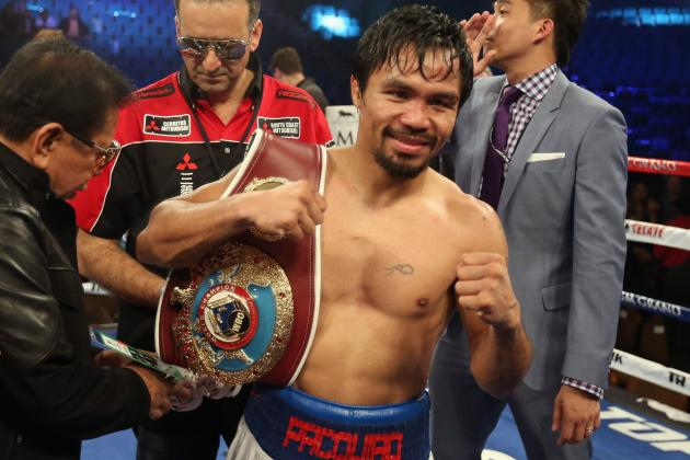 Manny Pacquiao's Mom Symbolizes Meaningfulness of Pac-Man's Triumph