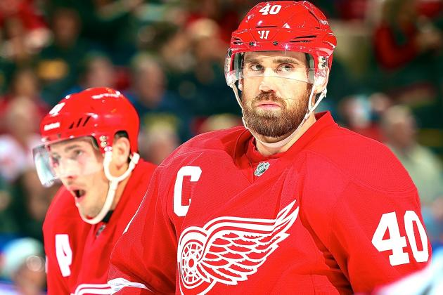 Henrik Zetterberg Injury: Updates on Red Wings Star's Back and Return