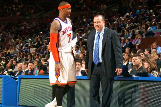 Report: Bulls Coach Tom Thibodeau Would 'Love' to Acquire Carmelo Anthony