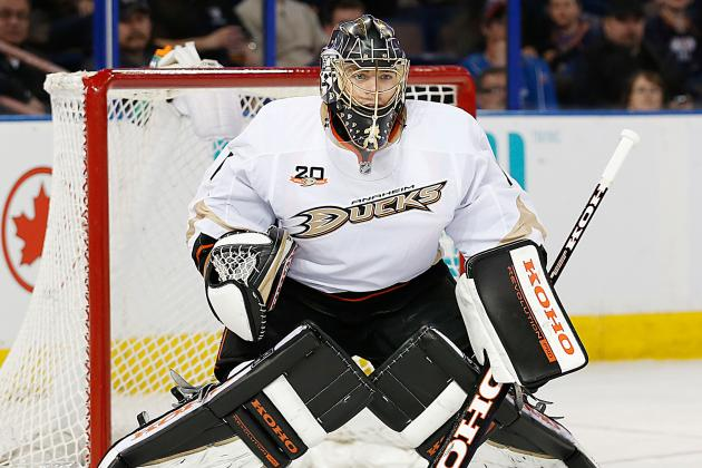 Ducks G Hiller Upset by Likely Benching