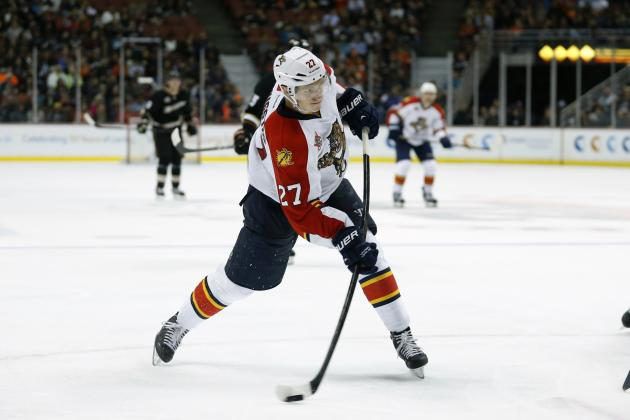 Panthers' Bjugstad Sets Dubious Record by Leading Team with 38 Points