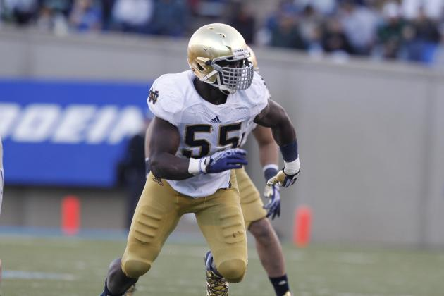 2014 Atlanta Falcons Potential Draft Pick Profile: OLB Prince Shembo
