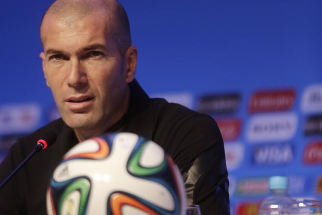 Zinedine Zidane Wanted to Replace Laurent Blanc as France Coach After Euro 2012