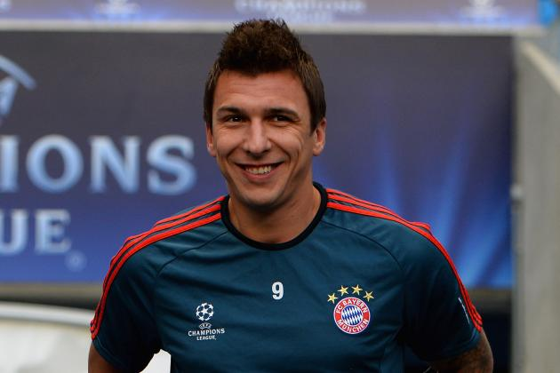 Arsenal Turn Attention to Bayern's Mario Mandzukic