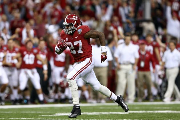 Alabama Football: What Will Derrick Henry's Role Be in 2014?