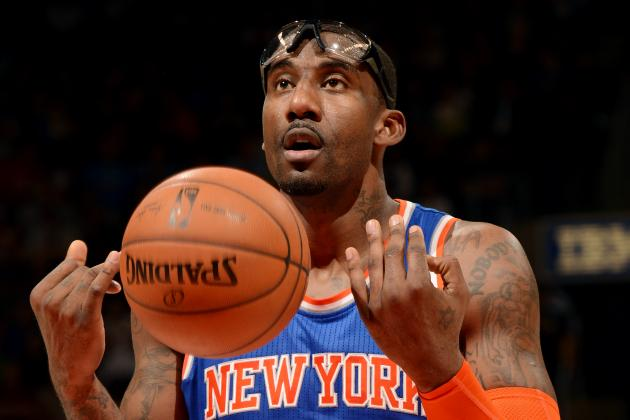 Report: Amar'e Stoudemire Could Play in Israel After Knicks Contract Expires