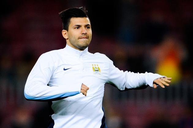 Sergio Aguero Return Leaves Tough Edin Dzeko Call for Manuel Pellegrini