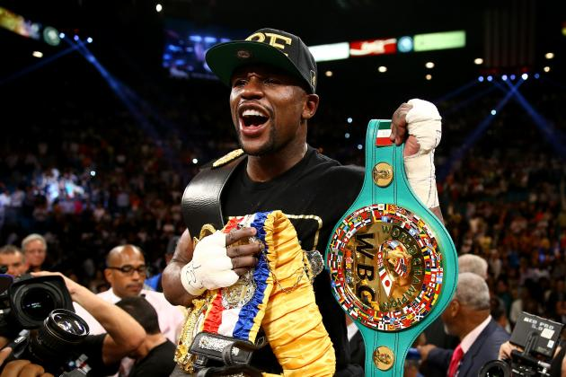 Floyd Mayweather Leads ESPN's Top-Paid Athletes in the World List