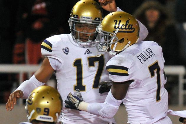 UCLA Football: Deep, Talented Receiving Corps Gives QB Brett Hundley Options