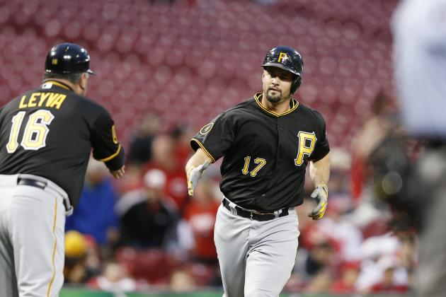 PIttsburgh Pirates Hit Three Pairs of Back-to-Back Home Runs