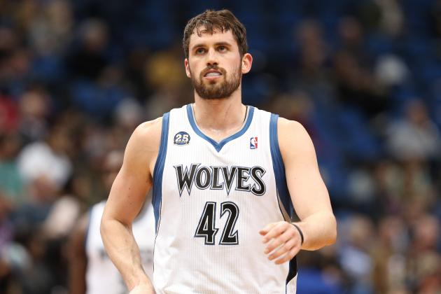 Timberwolves' Kevin Love Sets Franchise Record for Points in a Season