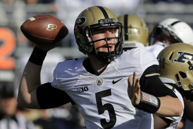 Offenses Struggle in Purdue's Gold vs. Black Spring Football Game