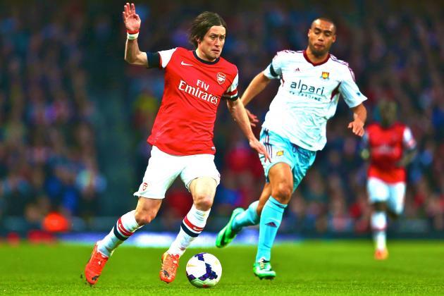 Arsenal vs. West Ham: Premier League Live Score, Highlights, Report