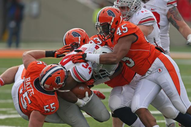 Illini Game at Ohio State Set for Primetime