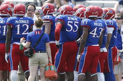 KU Football Coaches Now Turn to Chemistry