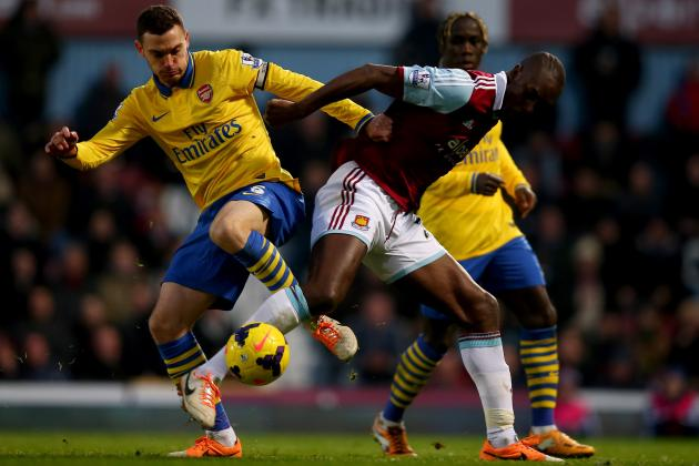 Arsenal vs. West Ham: Premier League Live Score, Highlights, Report