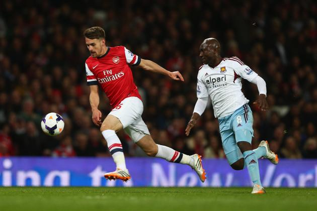 Arsenal vs. West Ham: Live Player Ratings for the Gunners and Hammers