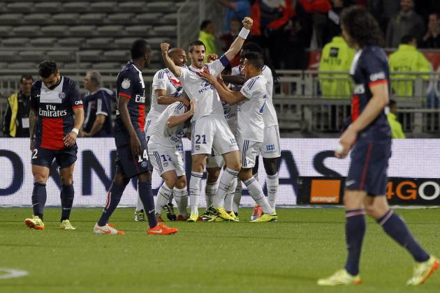Lyon Beat Paris Saint-Germain 1-0 to Continue Their Push for Europe