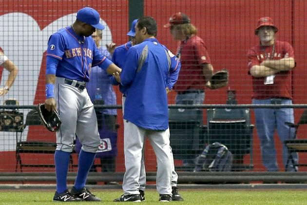 UTK: Mets' Curtis Granderson Collides with Wall, Comes Away Lucky