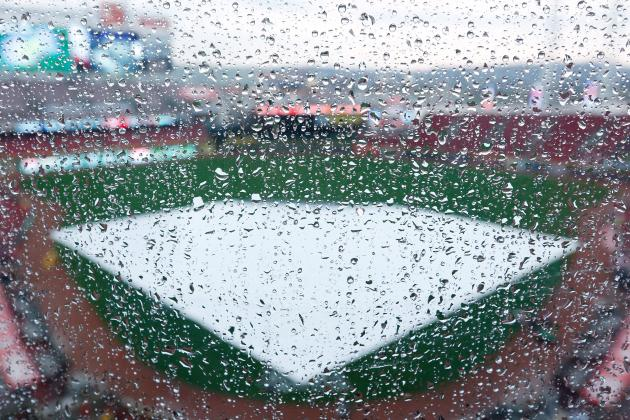 Indians vs Tigers Postponed by Rain