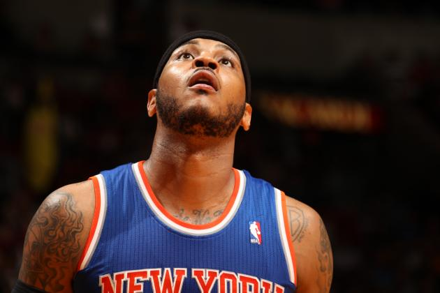 Carmelo Anthony: 'Everything for Me Is Just Cloudy'