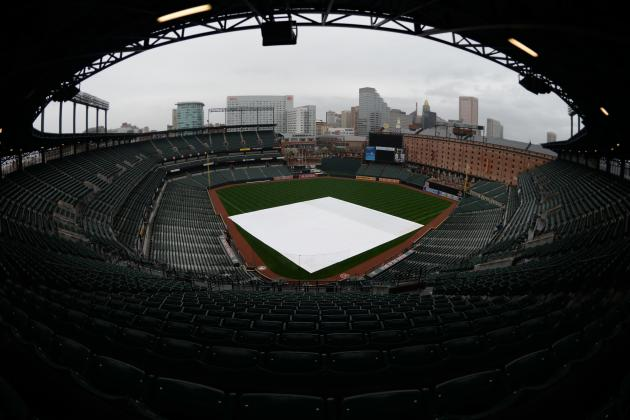 Orioles-Rays game postponed Tuesday and other notes