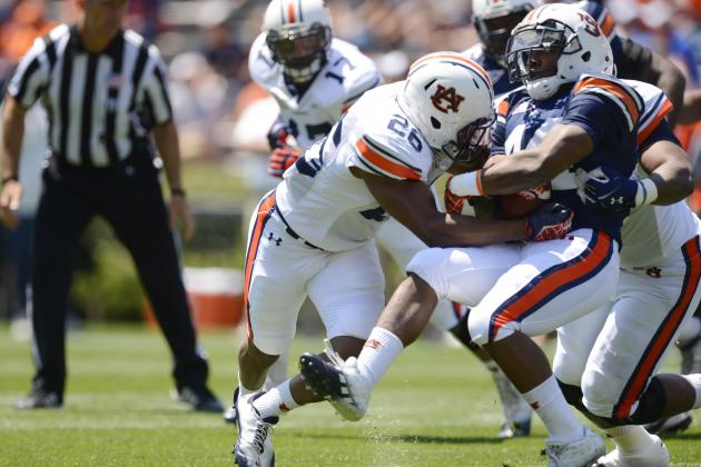 Auburn Football: Last Year's A-Day MVP, Justin Garrett, Ready to Break Out