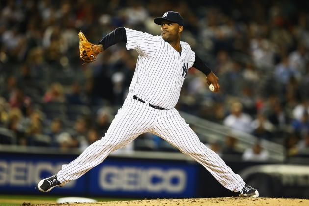 CC Sabathia of the Yankees Nears 2,500-Strikeout Milestone