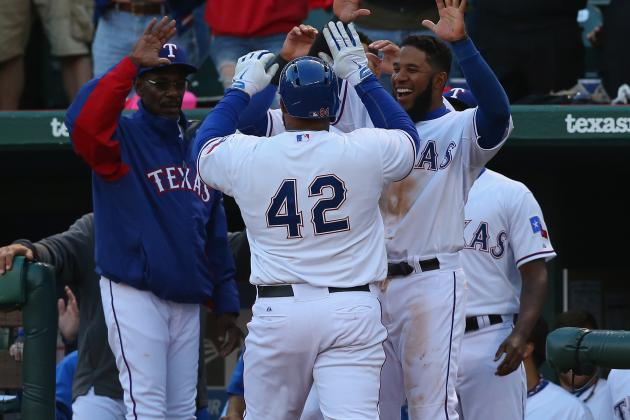 Fielder Ends HR Drought, Rangers Beat M's 5-0