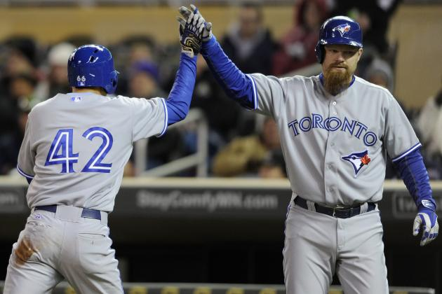 Bautista, Lawrie Lift Blue Jays over Twins 9-3
