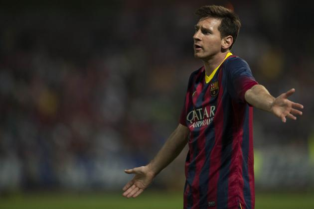 Lionel Messi Under Huge Pressure Ahead of Madrid vs Barcelona Copa Del Rey Final