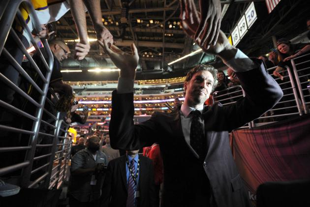 Despite Sad End, a Fond Farewell Is Needed for Pau Gasol
