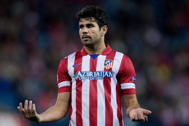 Chelsea FC: Is Atletico Striker and Blues' Prize Diego Costa Worth £50 Million?