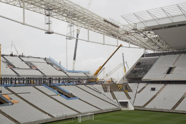 Sao Paulo World Cup Stadium Handed to Owners Unfinished