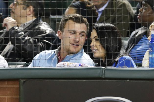 Who Was Johnny Manziel Hanging Out with at the Texas Rangers Game?