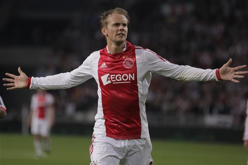 Ajax's Siem de Jong Wanted by Newcastle United