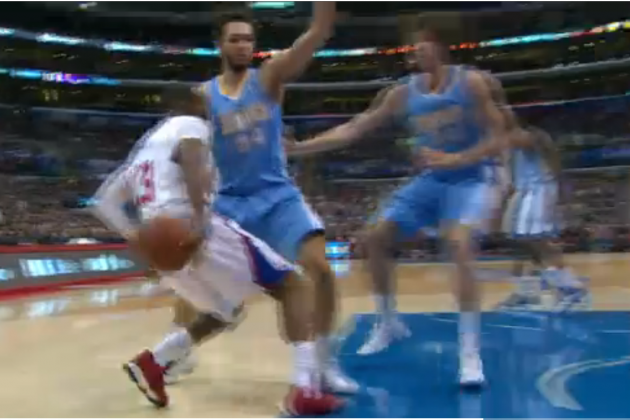 Chris Paul Channels Michael Jordan with Baseline Spin Around Evan Fournier