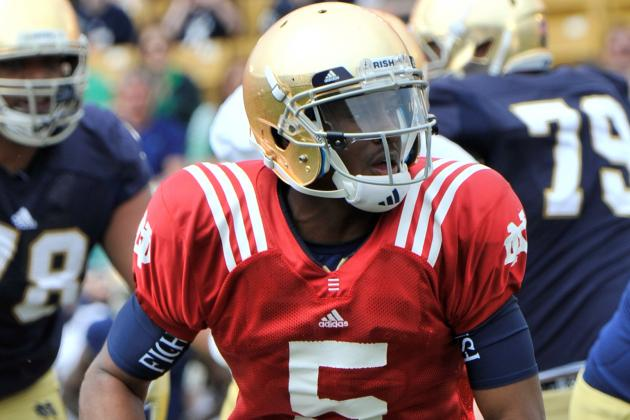 Quarterback Situation Offers Irish Optimism