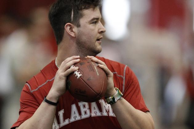 A.J. McCarron Is the Latest QB to Work out for the Browns