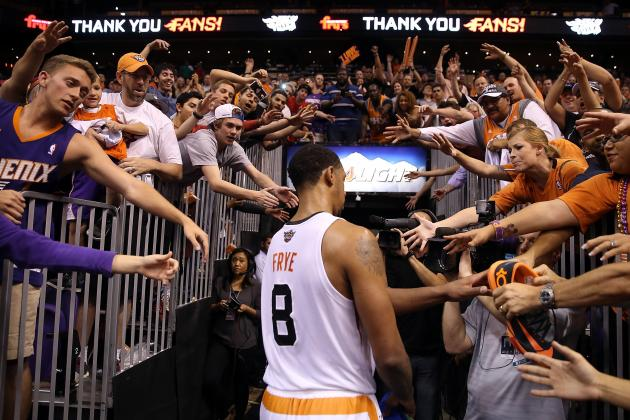 In Season of Surprises, Suns' Frye Might Be Biggest