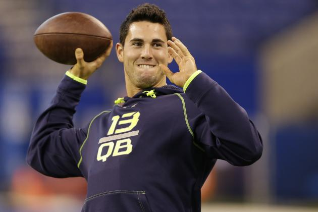 Jaguars Attend Aaron Murray's Pro Day