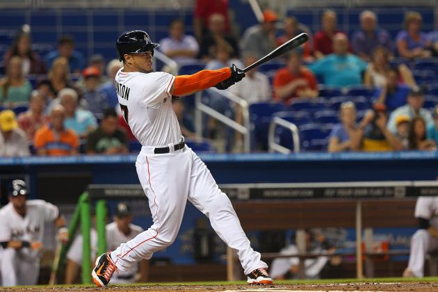 Marlins' Giancarlo Stanton Sets Franchise Record with 21 RBI Through 15 Games