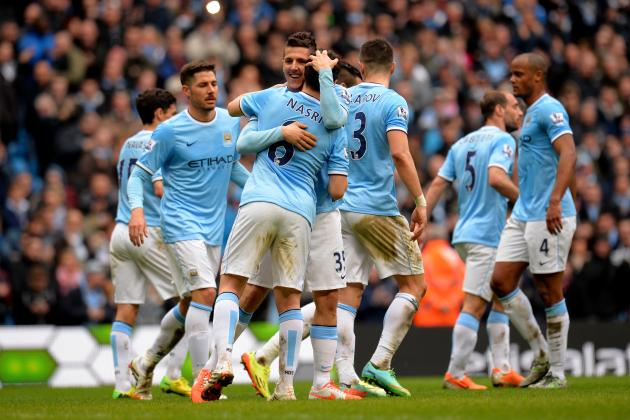 Manchester City vs. Sunderland: Live Player Ratings for Title-Chasing City